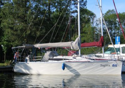 Cobra 33 sylwetka jachtu