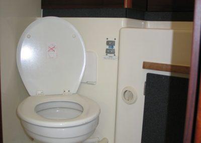 kabina WC jacht nautika 100