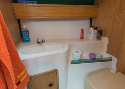 kabina wc jacht jumamaja