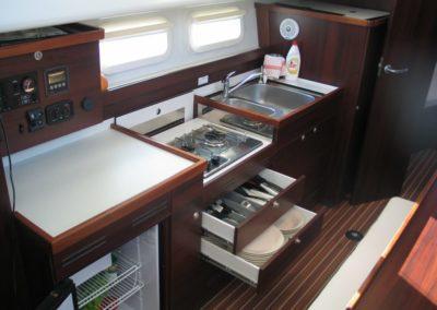 kambuz jacht motorowy nautika 1000