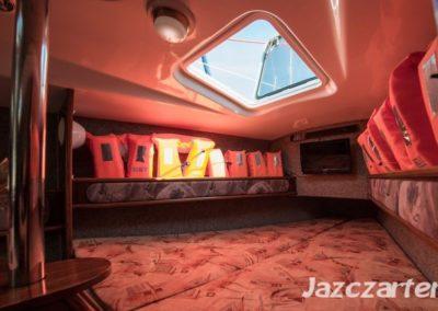 koja dziobowa jacht fortuna 27