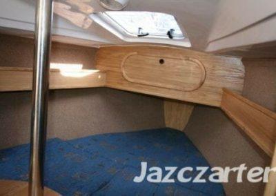 koja dziobowa jacht tes 678 BT