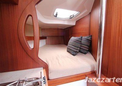 koja dziobowa jachtu gabi Nubian 24