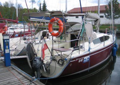 kokpit jachtu Marysia 900 Phila 900 Mazury