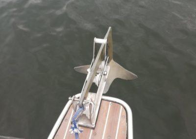 kotwica jachtu YoKa