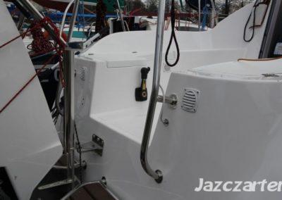 manetka silnika kokpit nubian jacht