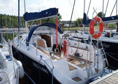 czarter jachtu maxus 33 jazczarter