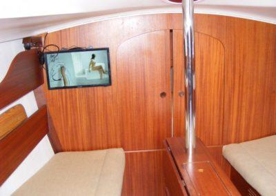 wnętrze jachtu Phila 880
