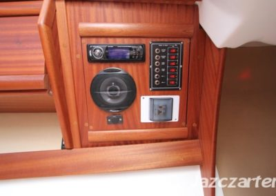 radio i panel sterowniczy