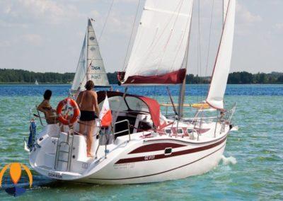 rodzinne żeglowanie jacht tes 32 dreamer