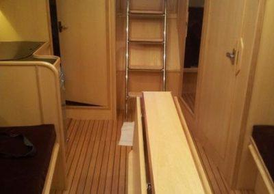 kabiny rufowe jachtu tango 33
