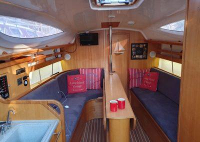 kabina jachtu Maxus 33 Roma