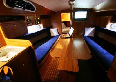 wnętrze jachtu Vipozuna