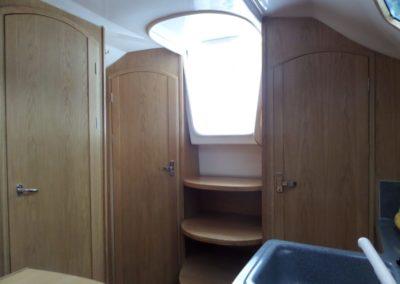 kabiny na jachcie Laguna 30