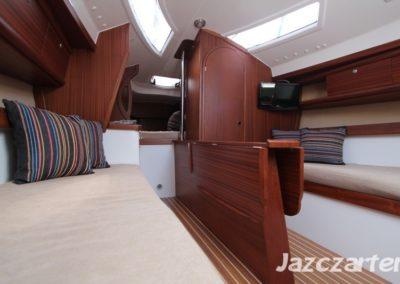 wnętrze jachtu nubian