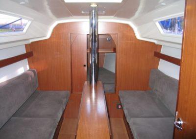wnętrze jachtu phila 900