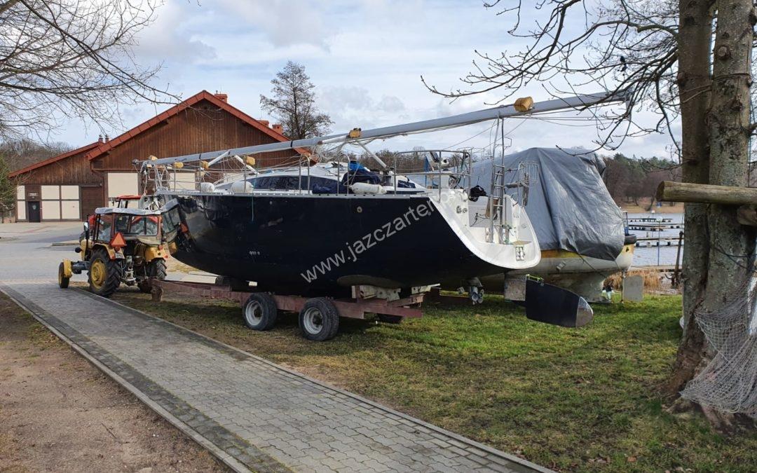 Przygotowanie jachtów do sezonu