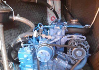 silnik diesel na jachcie 33